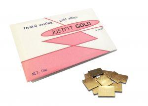 歯科用金属 白金加金合金 ジャストフィットゴールド